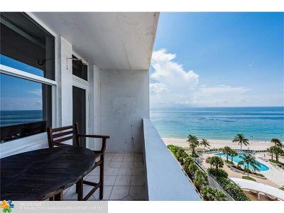 Condo/Townhouse For Sale: 4250 Galt Ocean Dr #10H