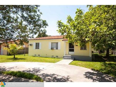 Miami Single Family Home For Sale: 7324 SW 16th St