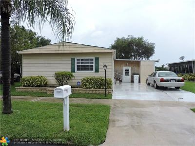 Coconut Creek Single Family Home For Sale: 3531 NW 67th St