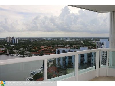 Aventura Condo/Townhouse For Sale: 21205 Yacht Club Dr #2708