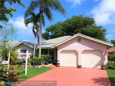 Coral Springs Single Family Home Backup Contract-Call LA: 1630 NW 106th Ln