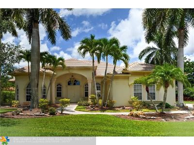 Coral Springs Single Family Home For Sale: 6113 NW 120th Ter