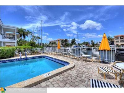 Fort Lauderdale Condo/Townhouse For Sale: 125 Isle Of Venice Dr #8