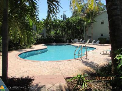 Wilton Manors Condo/Townhouse For Sale: 2607 NE 8th Ave #48