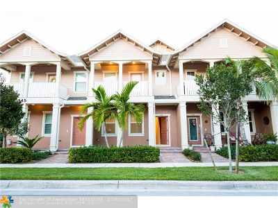 Jupiter Condo/Townhouse For Sale: 115 Black Ironwood Rd #102