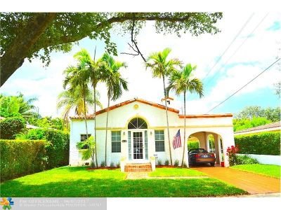 Coral Gables Single Family Home For Sale: 513 San Lorenzo Ave