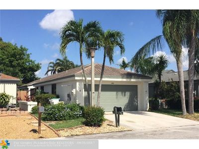 Coconut Creek Single Family Home For Sale: 1911 NW 34th Ave