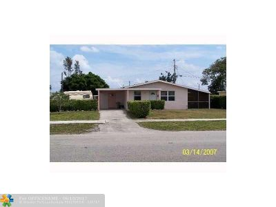 Pompano Beach Single Family Home For Sale: 2070 NW 6th Ave