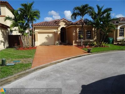 Miramar Single Family Home For Sale: 12784 SW 54 St