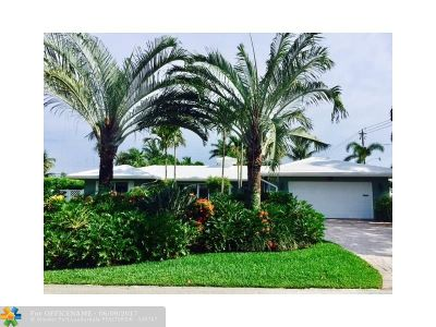 Fort Lauderdale Single Family Home For Sale: 2700 NE 34th St