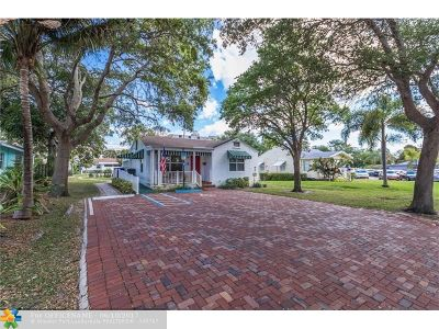 Pompano Beach Single Family Home For Sale: 1309 SE 1st St