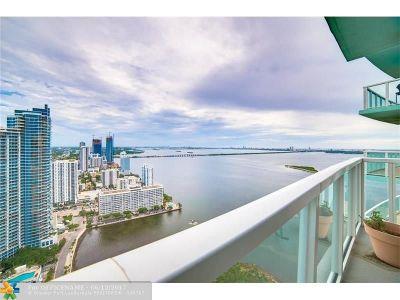 Miami Condo/Townhouse For Sale: 1900 N Bayshore Dr #4004