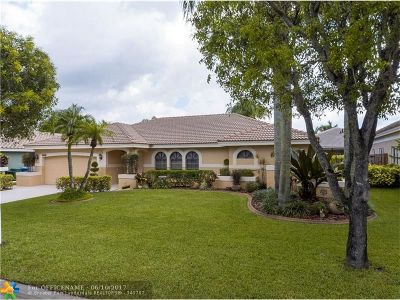 Coral Springs Single Family Home Sold: 4955 NW 58th Ter