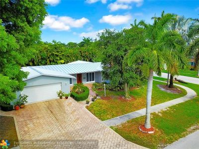 Fort Lauderdale Single Family Home For Sale: 5900 NE 15th Ave