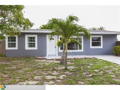Pompano Beach FL Single Family Home For Sale: $249,999