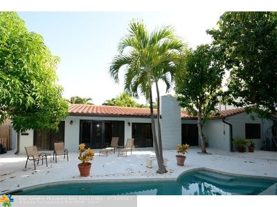 Pompano Beach Rental For Rent: 3412 Leigh Rd