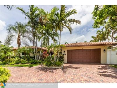 Pompano Beach Single Family Home For Sale: 1141 SE 9th Ter