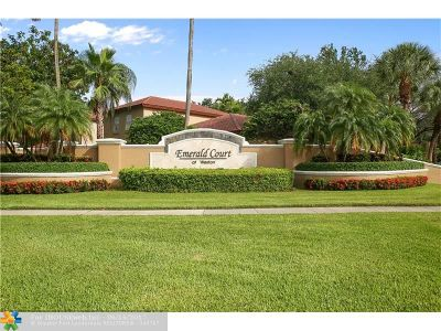 Weston Single Family Home For Sale: 16027 Emerald Cove Rd
