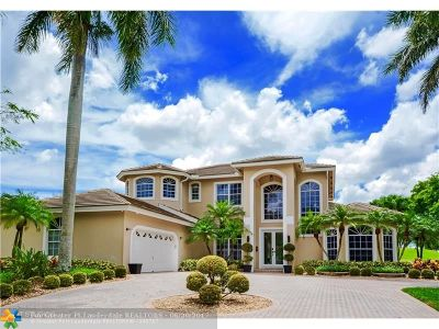Coral Springs FL Single Family Home For Sale: $869,000