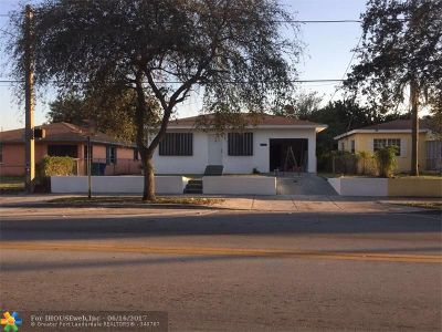Miami Single Family Home For Sale: 1358 NW 71 St