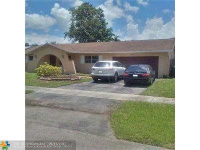 Single Family Home Sold: 6815 NW 25th Ter