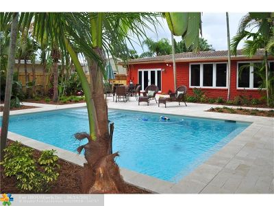 Fort Lauderdale Single Family Home For Sale: 1508 NE 17th Ave