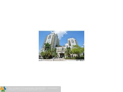 Fort Lauderdale Condo/Townhouse For Sale: 610 W Las Olas Blvd #1216-N