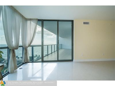 Hollywood Condo/Townhouse For Sale: 3101 S Ocean Dr #1103