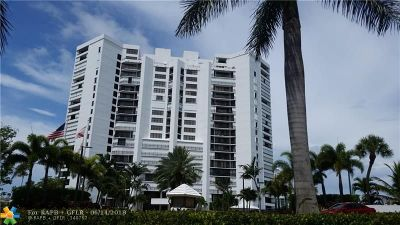 Hallandale Condo/Townhouse For Sale: 300 Three Islands Blvd #220