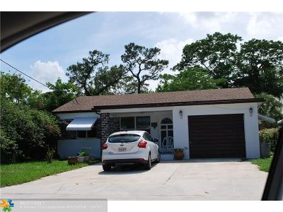 Lake Worth Single Family Home For Sale: 3837 Edwards Ave