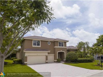Coral Springs Single Family Home For Sale: 473 NW 118 Way