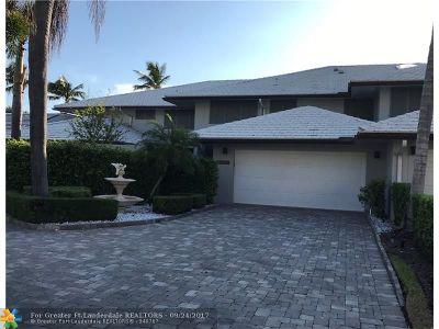Boca Raton Condo/Townhouse For Sale: 644 Boca Marina Ct #644