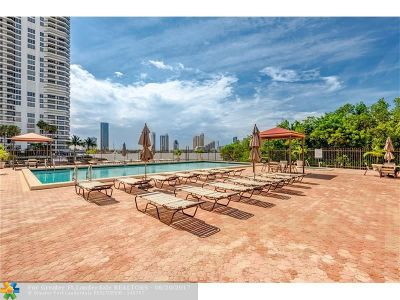 Aventura Condo/Townhouse For Sale: 3350 NE 192nd St #2M-B