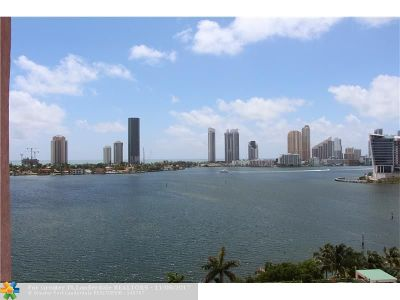 Aventura Condo/Townhouse For Sale: Hidden Bay Condo #1104