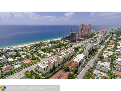 Condo/Townhouse For Sale: 2501 N Ocean Blvd #352