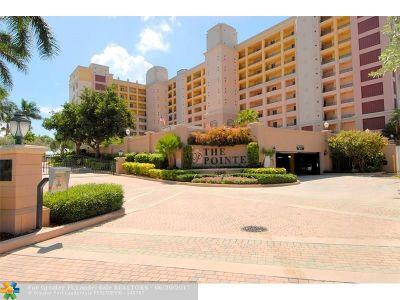 Pompano Beach Condo/Townhouse For Sale: 2880 NE 14th Street Cswy #401