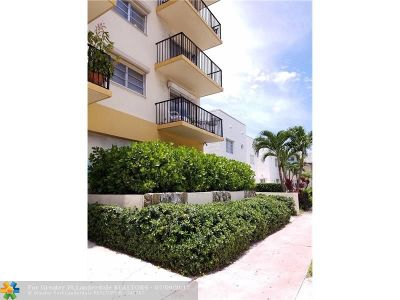 Miami Beach Condo/Townhouse For Sale: 1428 Euclid Ave #207