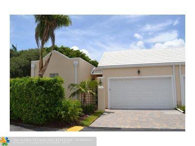 Boca Raton Condo/Townhouse For Sale: 17347 Bermuda Village Dr #17347