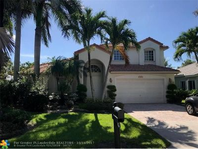 Coconut Creek Single Family Home For Sale: 6419 Mallards Way
