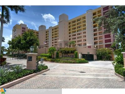 Pompano Beach Condo/Townhouse For Sale: 2880 NE 14th Street Cswy #312