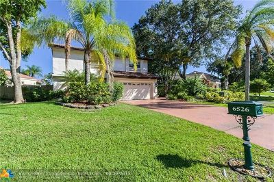 Boca Raton Single Family Home For Sale: 6526 Pond Apple Rd