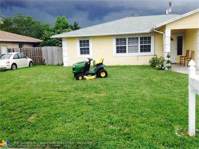 Lake Worth Single Family Home Backup Contract-Call LA