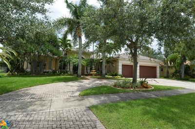 Davie Single Family Home For Sale: 13280 SW 42nd St