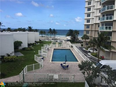 Condo/Townhouse For Sale: 1200 N Fort Lauderdale Beach Blvd #305