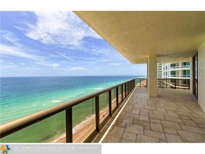 Sunny Isles Beach Condo/Townhouse For Sale: 16275 Collins Ave #1501