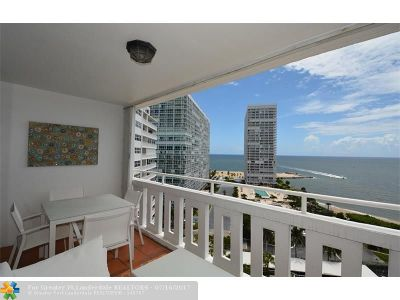 Fort Lauderdale Condo/Townhouse Backup Contract-Call LA: 2000 S Ocean Dr #1504
