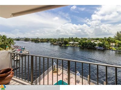 Fort Lauderdale Condo/Townhouse For Sale: 1839 Middle River Dr #303