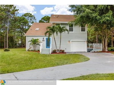 Palm Beach Gardens Single Family Home For Sale: 14731 N 64th Wy