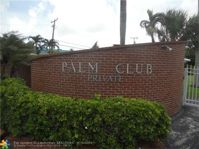 Pompano Beach Single Family Home For Sale: 1431 S Ocean Blvd #1