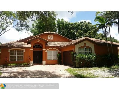 Coconut Creek Single Family Home For Sale: 5672 NW 41 Ave